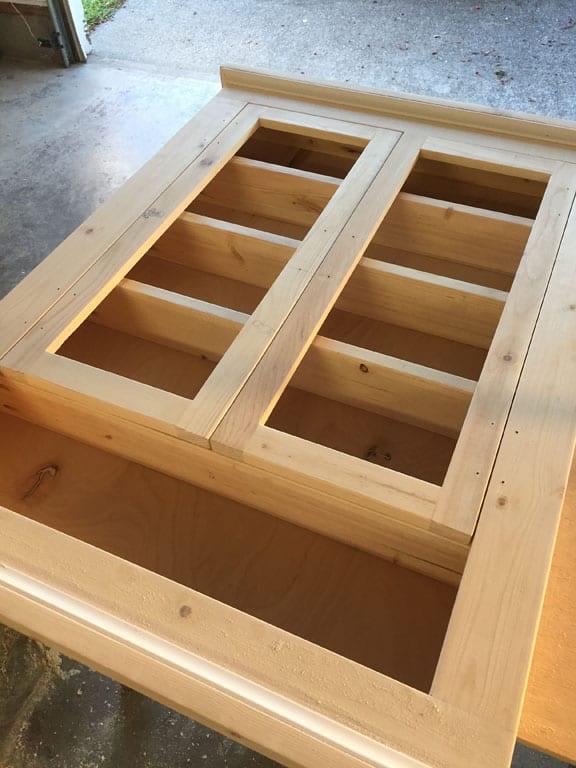 Medicine cabinet wood