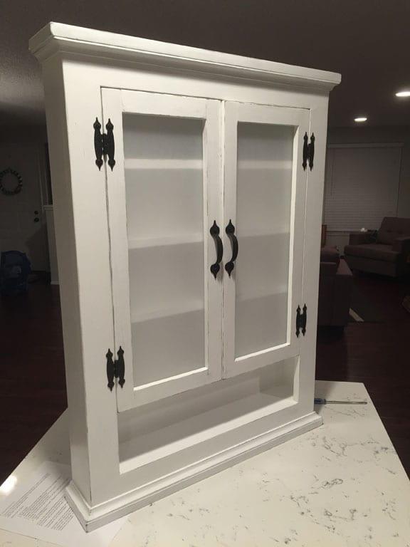 Finished medicine cabinet